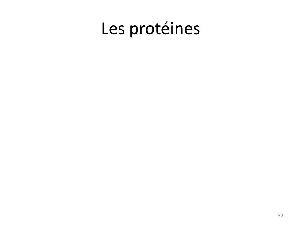 Les protéines 52