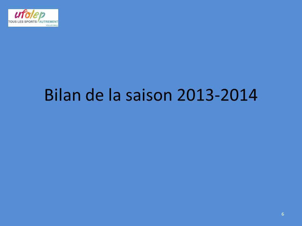 Bilan de la saison 2013-2014 6