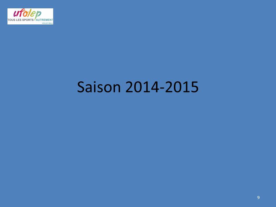 Saison 2014-2015 9