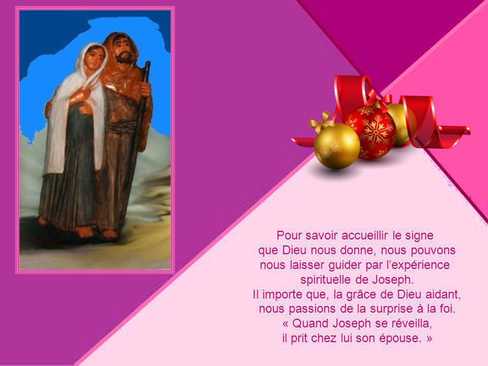 Noël est beaucoup plus que le rappel d'un événement passé. Il est aussi l'invitation à laisser naître le Christ en nos cœurs pour que nous puissions r