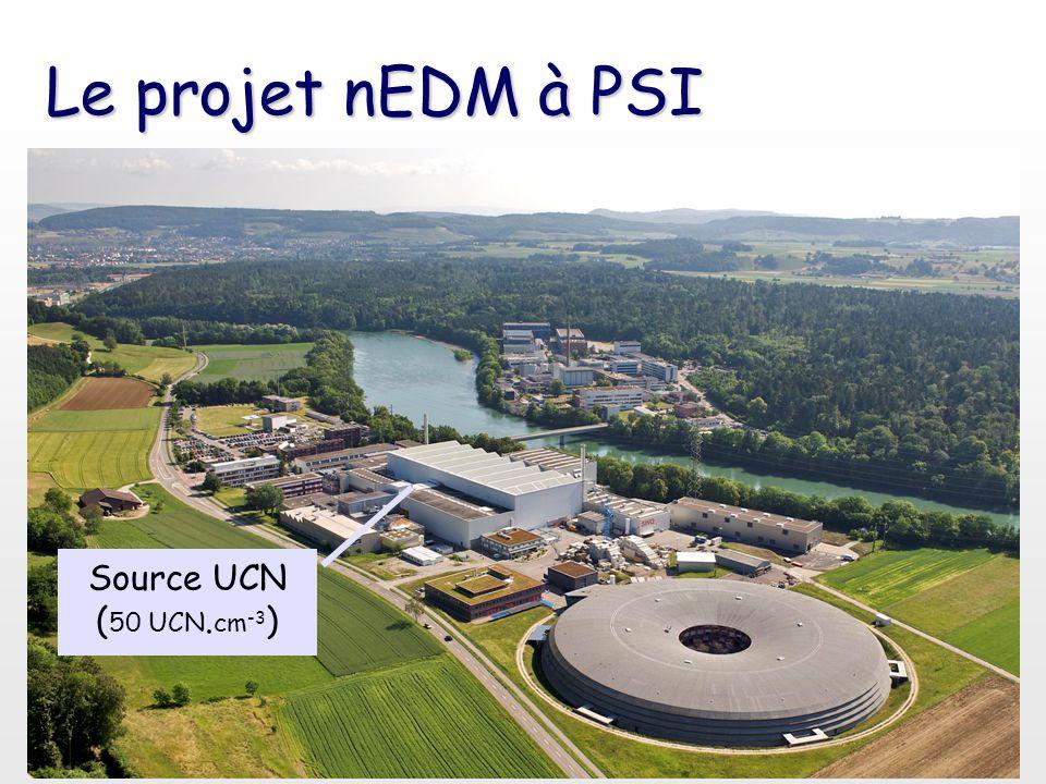 Le projet nEDM à PSI Source UCN ( 50 UCN. cm -3 )