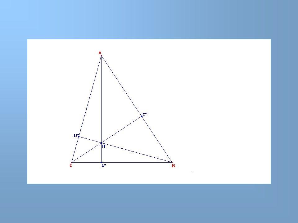 10,08 cm Triangle isocèle 8,57 cm Hauteur, médiane, médiatrice issues de A sont confondues