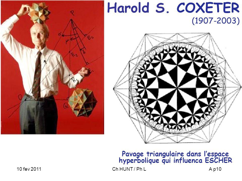 10 fev 2011Ch HUNT / Ph LA p10 Harold S.