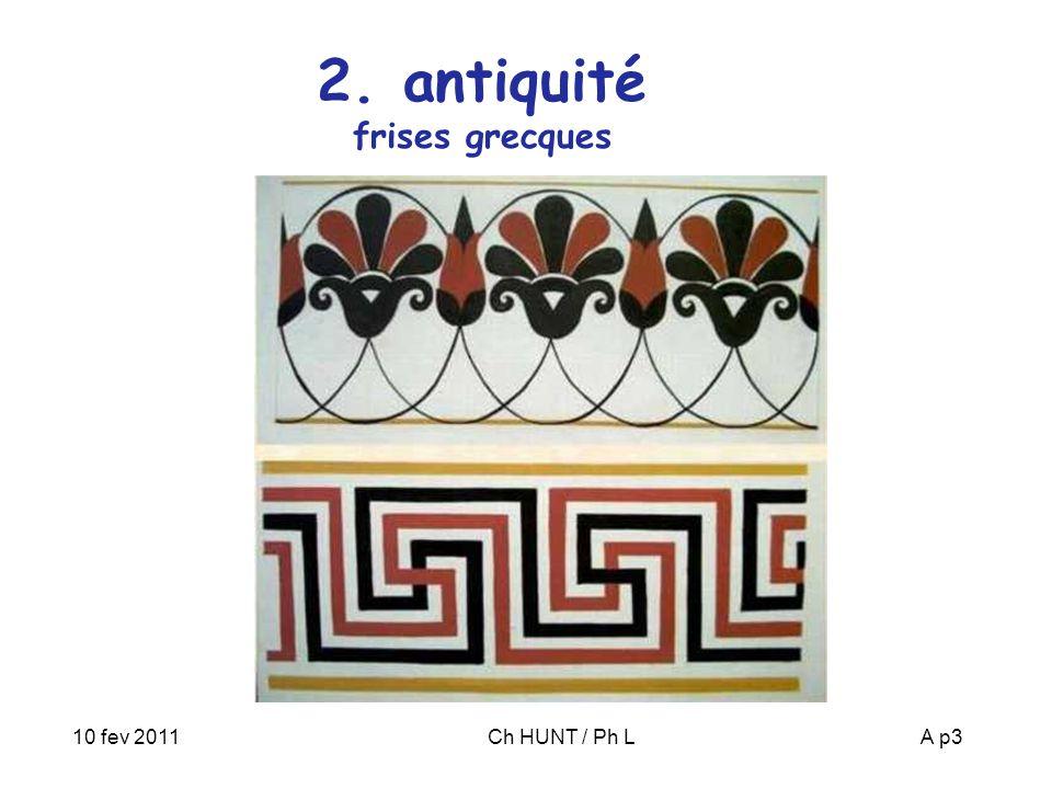 10 fev 2011Ch HUNT / Ph LA p4 3. Islam motifs islamiques 17 pavages périodiques