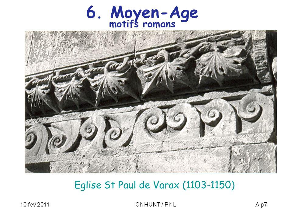 10 fev 2011Ch HUNT / Ph LA p8 7. Moyen-Age Nicolas ORESME (1325-1382)