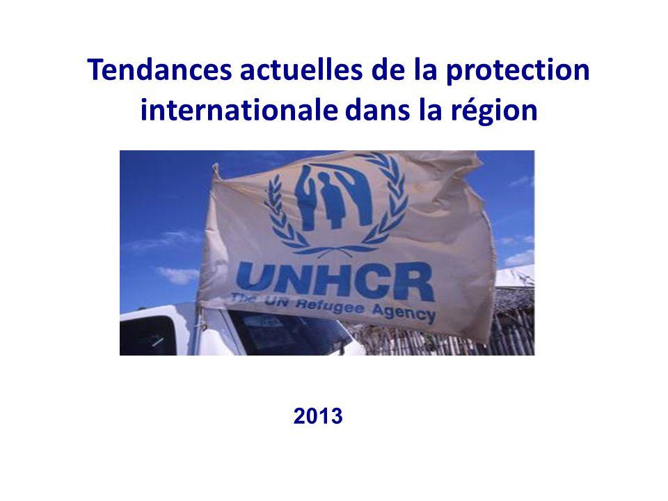 Tendances actuelles de la protection internationale dans la région 2013