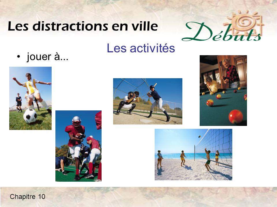 Activité Qu'est-ce que vous aimez faire.Parlez des activités suivantes avec un partenaire.