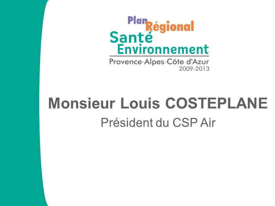 Monsieur Louis COSTEPLANE Président du CSP Air