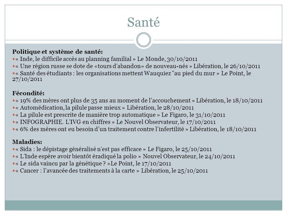 Pluralité Culturelle Religions: « Les Tunisiens de France se sentent oubliés » Le Figaro, le 19/10/2011 « Les islamistes marquent des points » Courrier international, le 27/10/2011 « A Assise, les chefs des religions dénoncent la guerre en leur nom » Le Point, le 27/10/2011 « En Libye, la tentative de l'islamisme », Libération, le 25/10/2011 Parité: « Droit des femmes: Ennahda s engage » Le Figaro, le 24/10/2011
