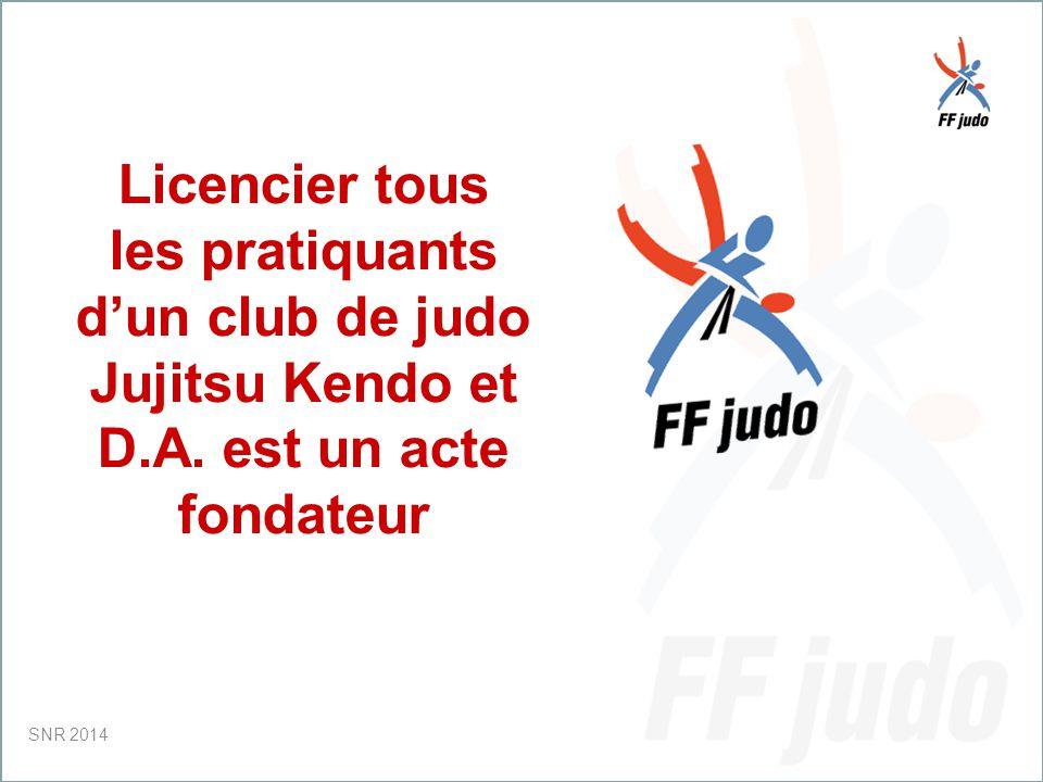 CD – 19-juin-10 Licencier tous les pratiquants d'un club de judo Jujitsu Kendo et D.A.