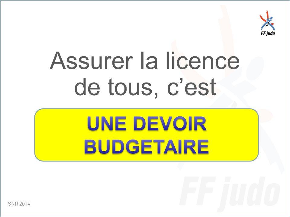CD – 19-juin-10 Assurer la licence de tous, c'est SNR 2014