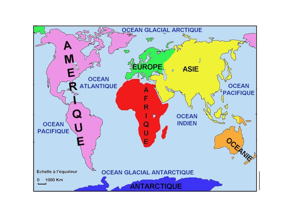 Les grands repères terrestres du monde 2) RELIEFS - FLEUVES - DESERTS HUMAINS – ISTHMES ET DETROIT : 1 Montagnes Rocheuses 2 Grand nord canadien 3 Cordillères des Andes 4 Groenland 6 Grande forêt 7 Alpes 9 Himalaya 10 Sahara 11 Amazonie 12 Désert australien 13 Antarctique 14 Arabie A Mississipi B Amazone C Congo D Nil E Gange F Chang Jiang 2 Isthme de Panama 8 Isthme de Suez 5 Détroit de Gibraltar 4 2 11 10 13 5 14 12