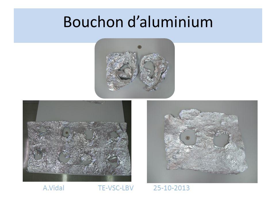 Bouchon d'aluminium A.VidalTE-VSC-LBV25-10-2013