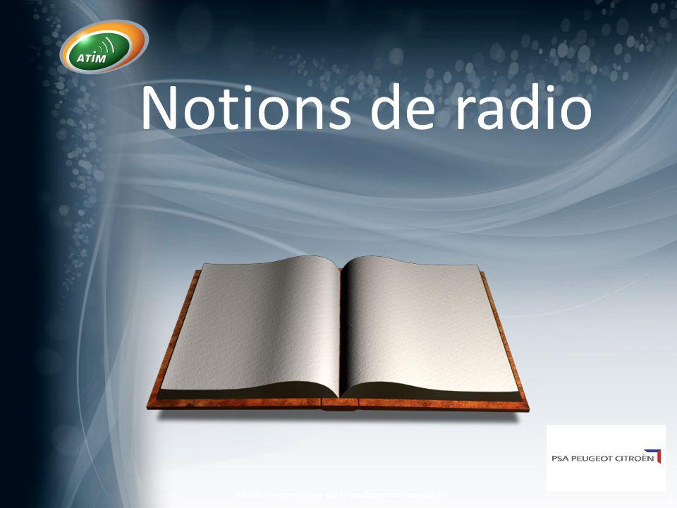 Site A Site B d2 d1 Radius of n th Fresnel Zone given by: 21 21 dd d dn r n   o Le diamètre de la zone de Fresnel dépend de la longueur d'onde et de la distance de propagation o Pour un minimum de perte, 0.6F1+ 3m est demandé 2nd * 1st * 3rd* * Fresnel Zones Les fondamentaux de la RF ATIM: le spécialiste de la radiocommunication 15