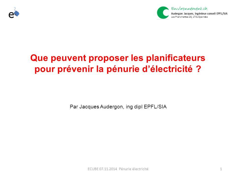 1 Que peuvent proposer les planificateurs pour prévenir la pénurie d'électricité .
