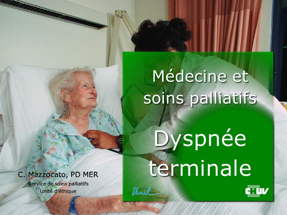Dr C. Mazzocato, PD MER 1 C. Mazzocato C. Mazzocato, PD MER Service de soins palliatifs Unité d'éthique C. Mazzocato, PD MER Service de soins palliati