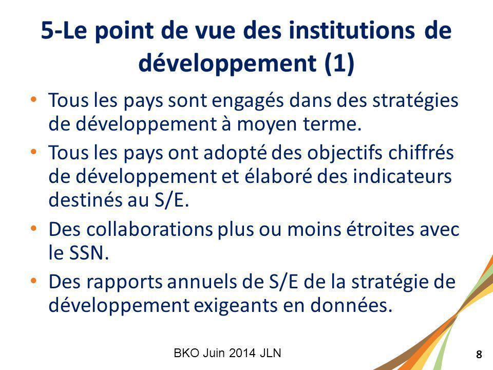 8 Tous les pays sont engagés dans des stratégies de développement à moyen terme.
