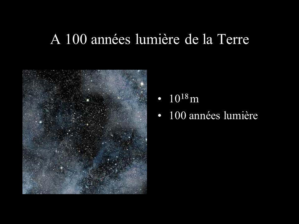 10 17 m 10 années lumière