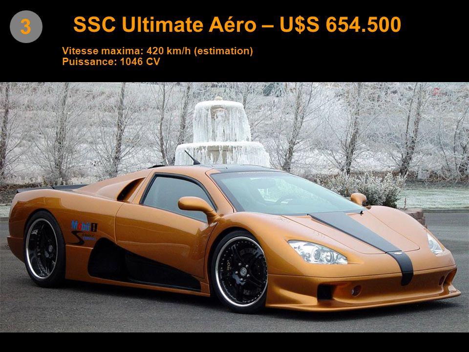 4 Leblanc Mirabeau – U$S 643.000 Vitesse maxima: 370 km/h Puissance 700 CV