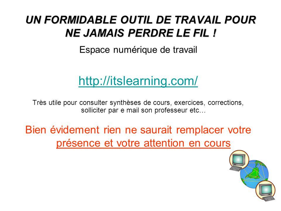 17 UN FORMIDABLE OUTIL DE TRAVAIL POUR NE JAMAIS PERDRE LE FIL .