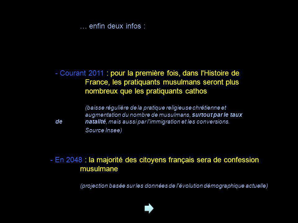 01/01/11 : Montfermeil (93), église évangélique vandalisée puis en partie incendiée 26/12/10 : Gond (Charente), crèche vandalisée 12/11/10 : Avignon (Vaucluse), la paroisse Saint-Jean est le théâtre depuis plusieurs semaines de menaces « inter-communautaires ».