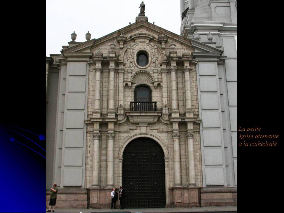 La petite église attenante à la cathédrale
