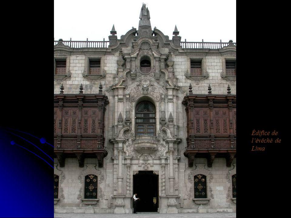 Édifice de l'évêché de Lima