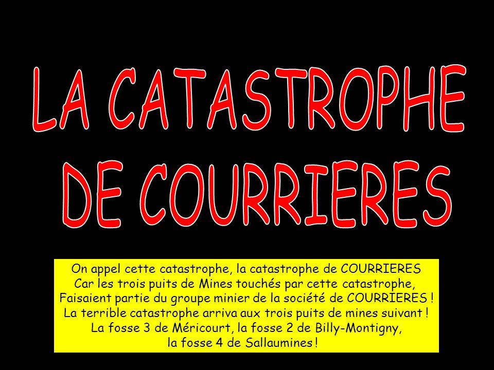 Le 30 mars à 7h 30, 13 rescapés arrivent au Puits N°2 de Billy-Montigny, après 20 jours d'errance au fond de la mine .