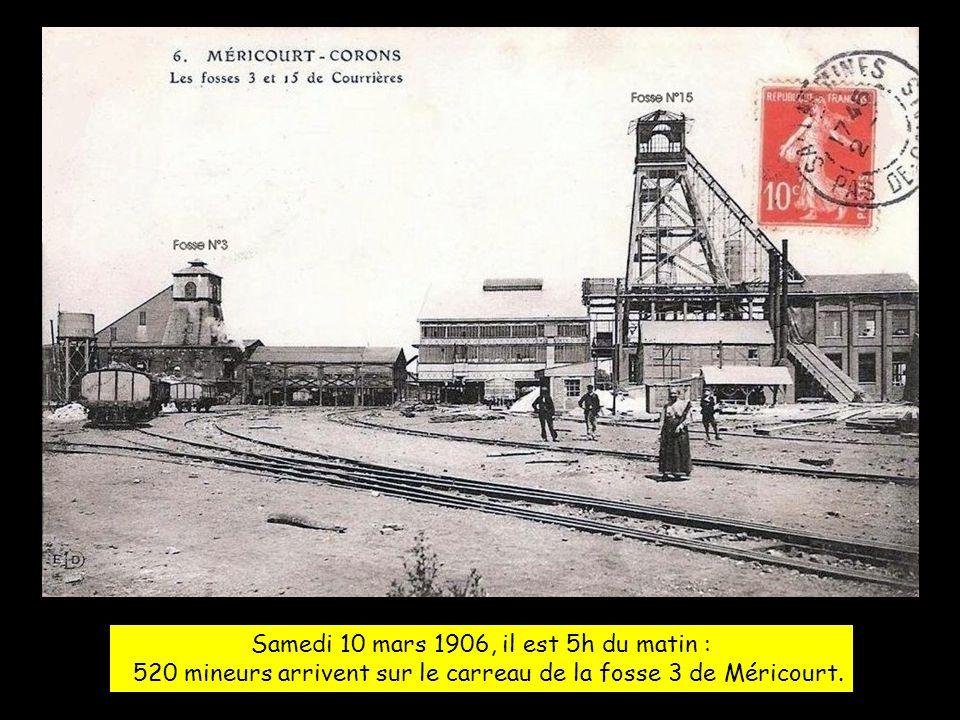 On appel cette catastrophe, la catastrophe de COURRIERES Car les trois puits de Mines touchés par cette catastrophe, Faisaient partie du groupe minier de la société de COURRIERES .