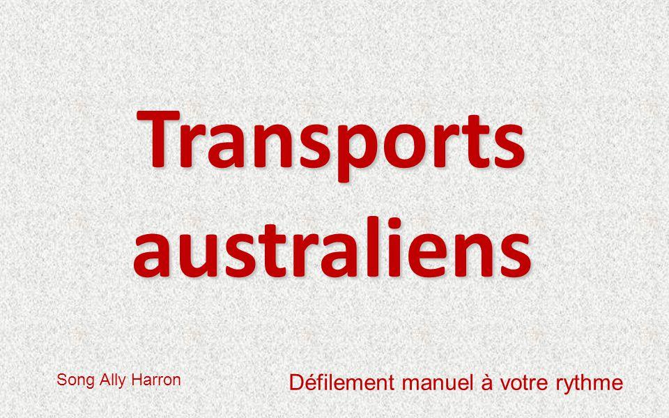 Transports australiens Song Ally Harron Défilement manuel à votre rythme