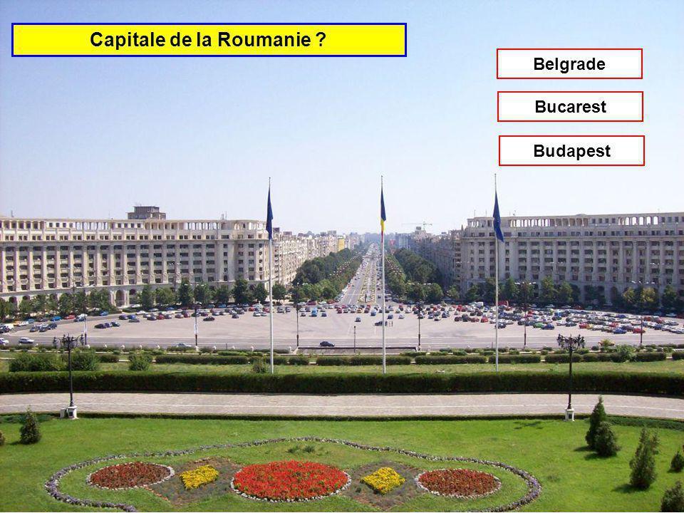 Capitale de la République Tchèque Belgrade Prague Sofia