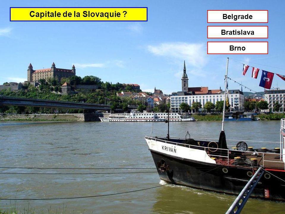 Capitale de la Slovénie Tirana Ljubljana Sofia