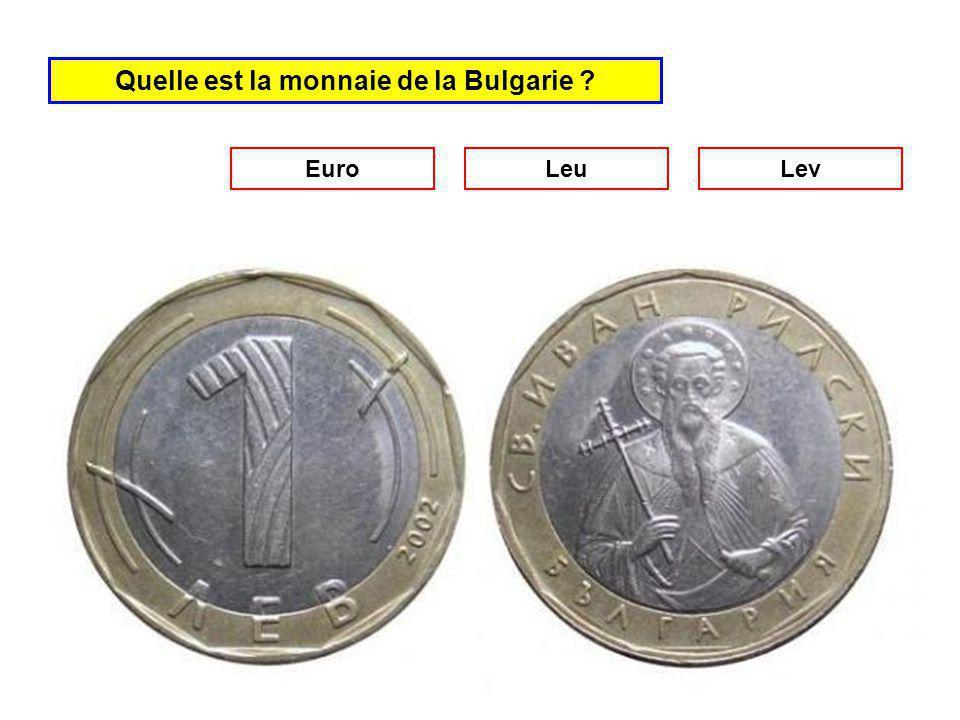 Quelle est la monnaie de la Slovénie Euro Leu Tolar
