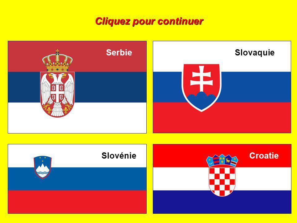 Cliquez sur le drapeau de la Croatie :