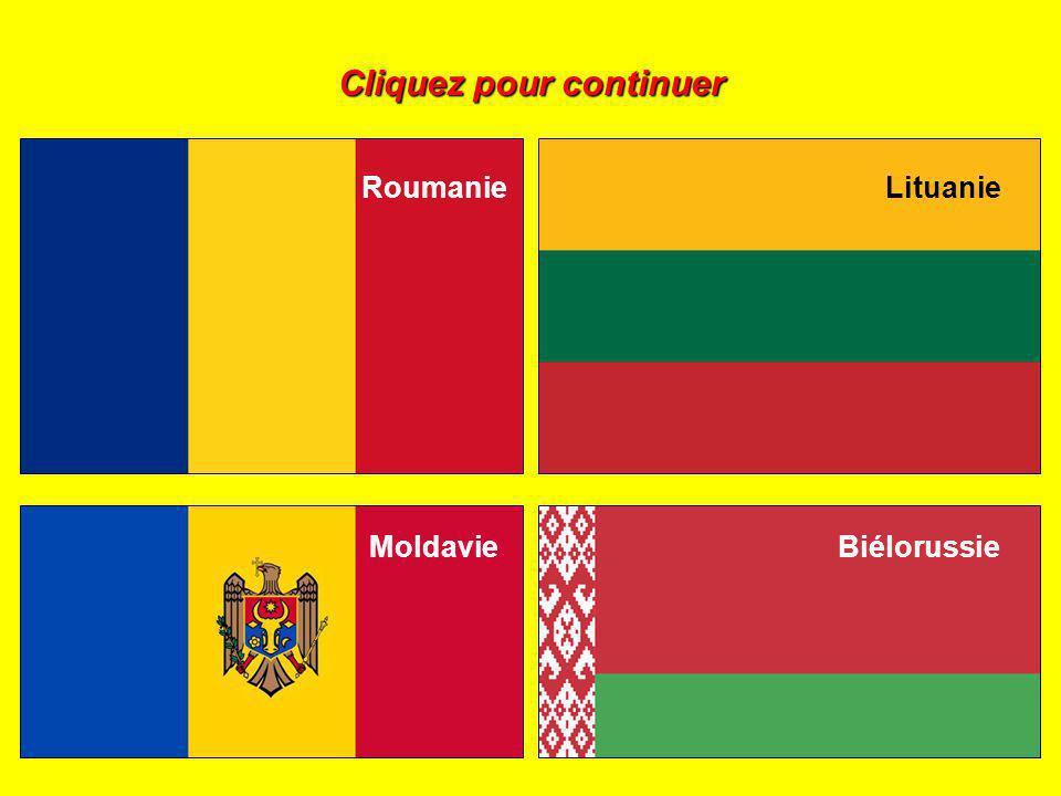 Cliquez sur le drapeau de la Moldavie :
