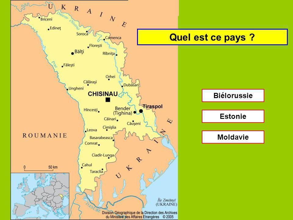 Quel est ce pays Bulgarie Hongrie Tchéquie