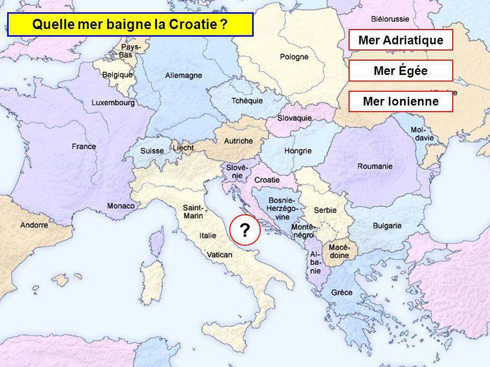 Quelle mer baigne la Roumanie Mer Caspienne Mer Morte Mer Noire