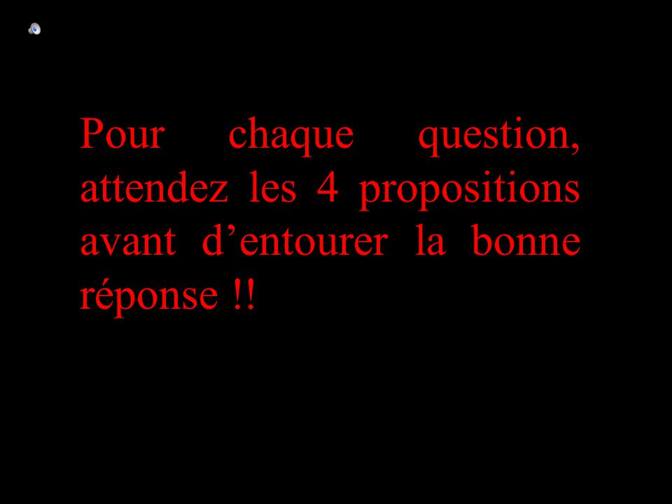 –1–1 1 er calcul Question 7 60 -60 -40 0 Calcule -5 × (-3) × (-2) + (-30)