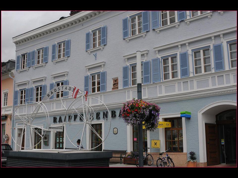 Radstadt en français La ville de la roue