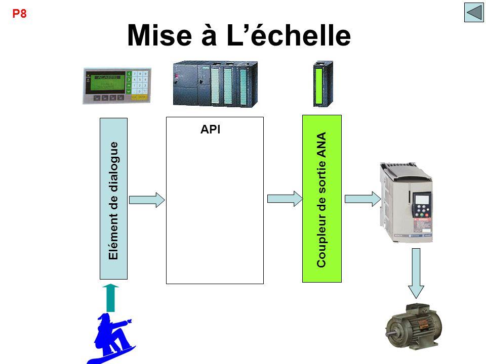  API Elément de dialogue Mise à L'échelle Coupleur de sortie ANA P8