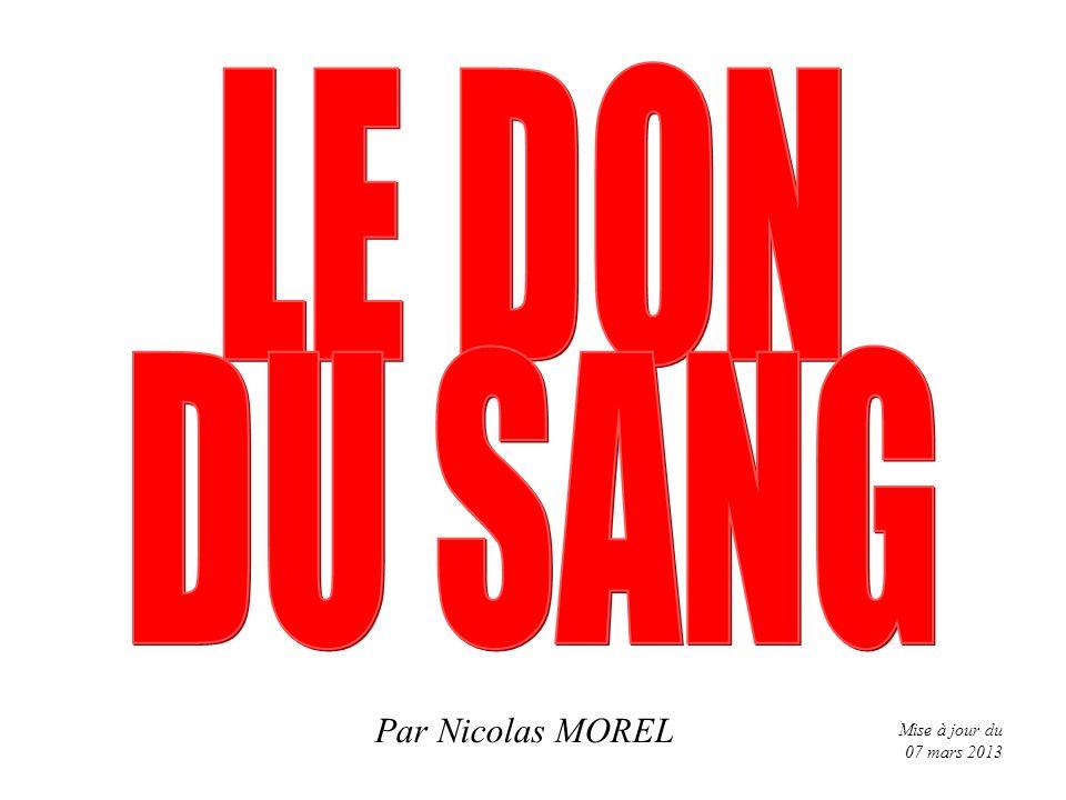 Par Nicolas MOREL Mise à jour du 07 mars 2013