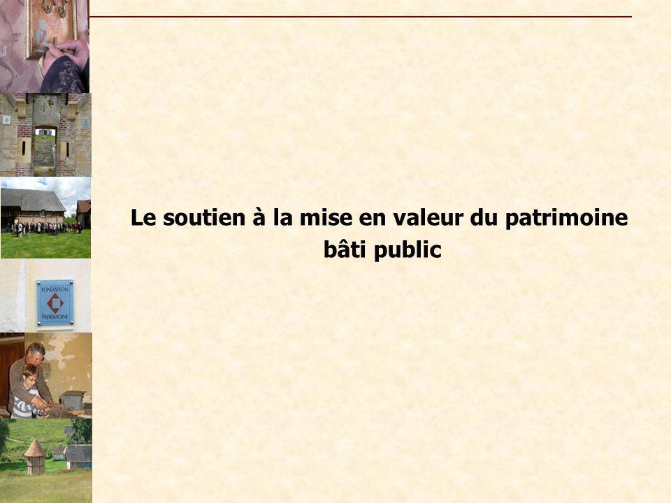 - les Rubans du Patrimoine Fédération française du Bâtiment, - le prix du mécénat populaire (Dexia crédit local de France) - Concours « Un patrimoine pour demain » - Pèlerin magazine….