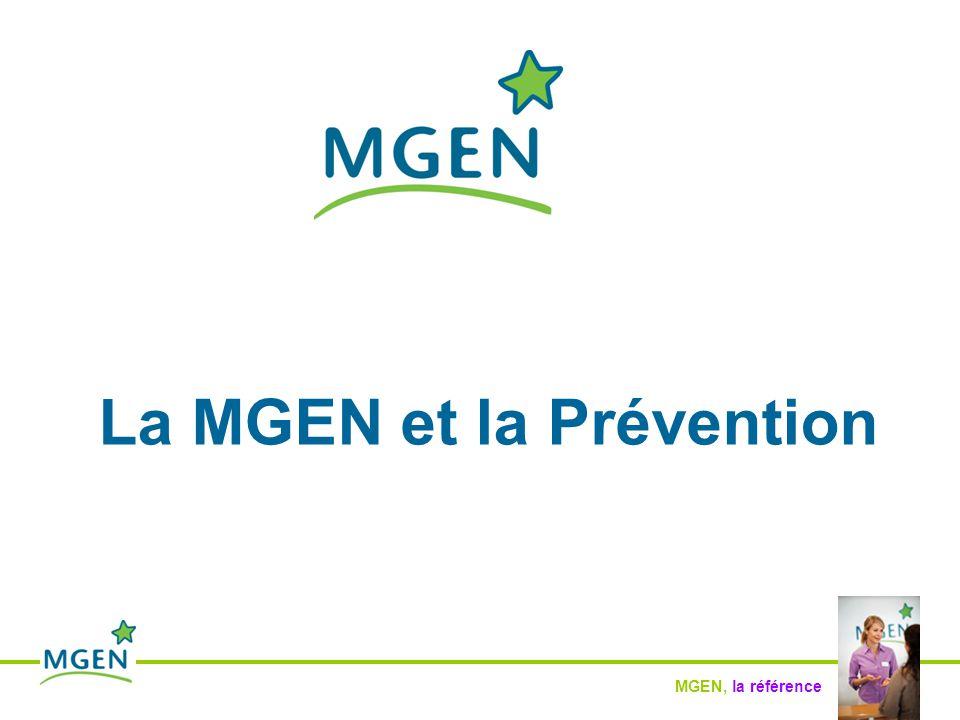 MGEN, la référence La MGEN et la Prévention Autres actions … - Actions à construire avec vous, à l'avenir …