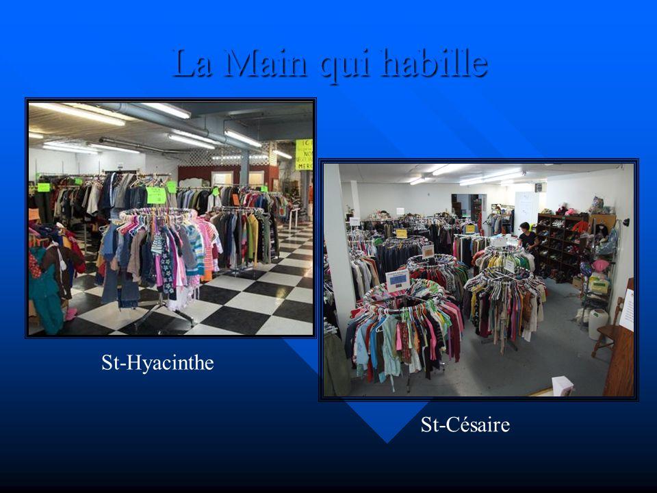 La Main qui habille St-Hyacinthe St-Césaire