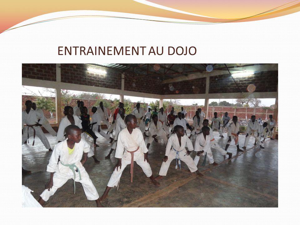 ENTRAINEMENT AU DOJO