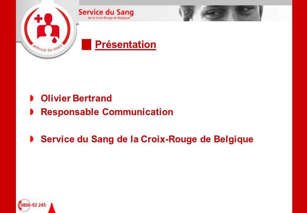Contexte général Notre mission Promotion du don (Recrutement) et fidélisation Prélèvement Préparation des produits sanguins labiles Validation Distribution