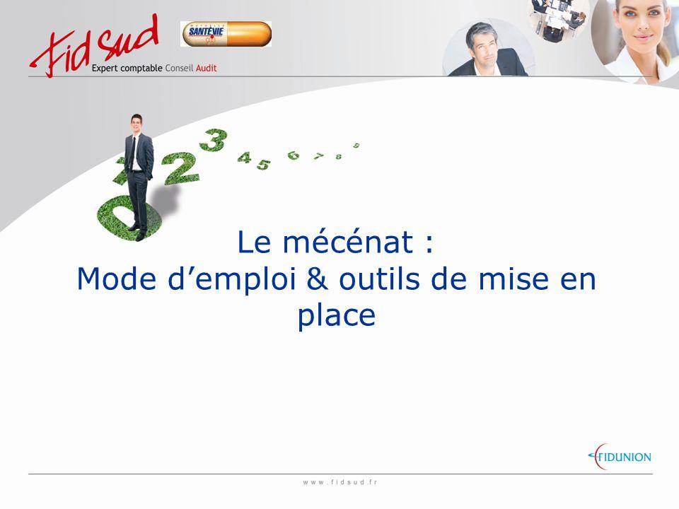 Le mécénat : Mode d'emploi & outils de mise en place