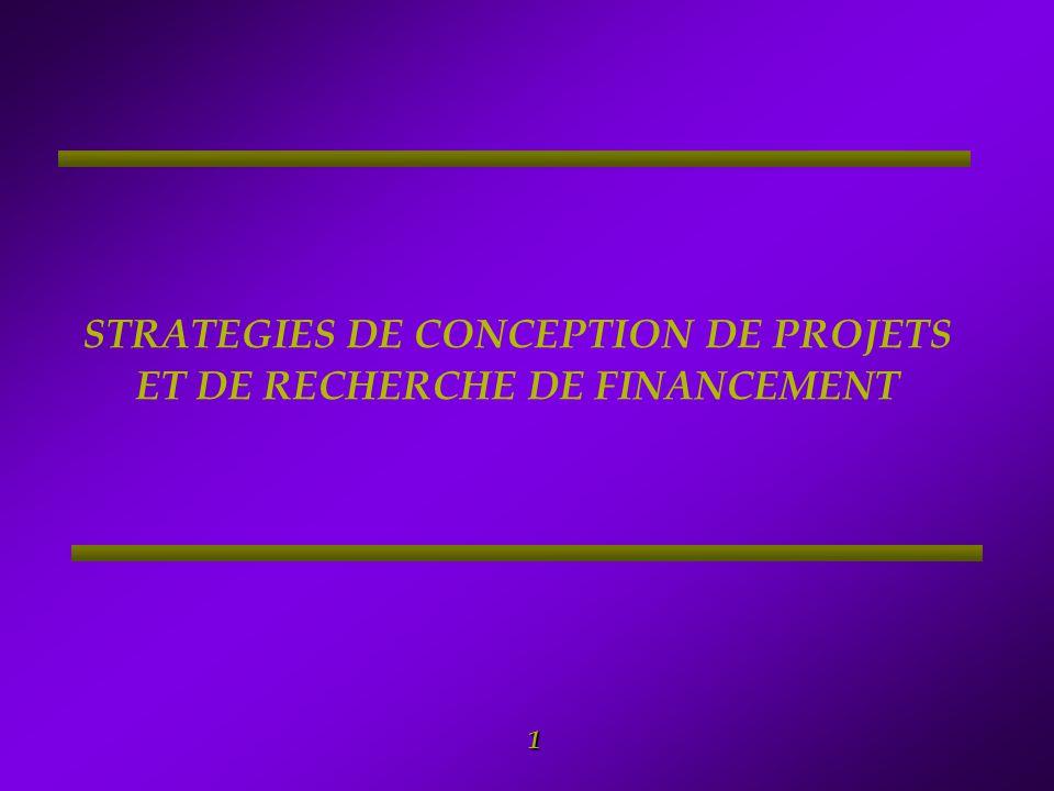 2 Sommaire 1.LA FORMULATION DE PROJET 2. Objectifs et structure de la fonction financière 3.