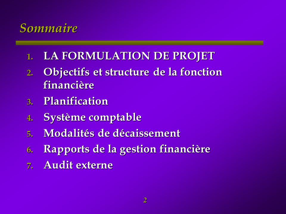 3 -1- Rappel du montage institutionnel du PASP Maroc