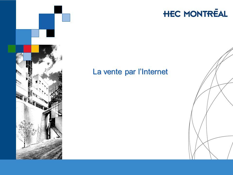 HEC MONTRÉAL – M.Sc.Commerce électronique Économie Numérique Jacques Robert, HEC Montréal 11.
